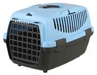 Переноска для животных до 6 кг Capri Transport Box 1 & 2 cиняя I