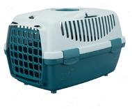 Переноска для животных до 6 кг Capri Transport Box 1 & 2 голубая I