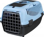 Переноска для животных до 8 кг Capri Transport Box 1 & 2 синяя II