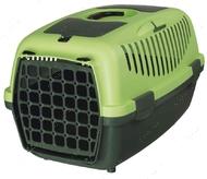 Переноска для животных до 8 кг Capri Transport Box 1 & 2 зеленая II