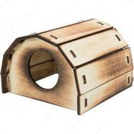 Домик для грызунов Wooden House Mikkel