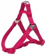 Нейлоновая шлея-петля фуксия Premium One Touch Harness fuchsia
