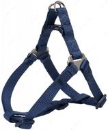 Нейлоновая шлея-петля индиго Premium One Touch Harness indigo