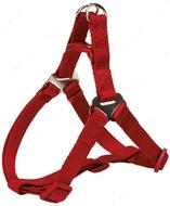 Нейлоновая шлея-петля красная Premium One Touch Harness red
