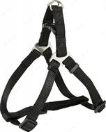 Нейлоновая шлея-петля черная Premium One Touch Harness black