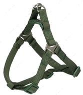 Нейлоновая шлея-петля оливковая Premium One Touch Harness forest