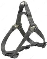 Нейлоновая шлея-петля графитовая Premium One Touch Harness graphite