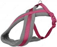 Шлея для собак нейлоновая ярко-розовая Premium Touring Harness orchid