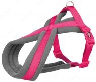 Шлея для собак нейлоновая фуксия Premium Touring Harness fuchsia