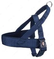 Нейлоновая Норвежская шлея индиго  Premium Norwegian Harness indigo