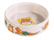Миска керамическая для хомяка Ceramic Bowl