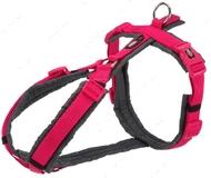 Шлея для собак фуксия Premium Trekking