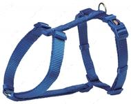 Шлея для собак H-образная синяя Premium H-Harness
