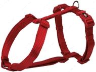 Шлея для собак H-образная красная Premium H-Harness