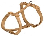 Шлея для собак H-образная карамельная Premium H-Harness