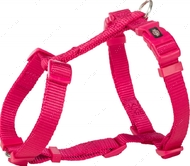 Шлея для собак H-образная фуксия Premium H-Harness