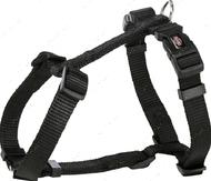 Шлея для собак H-образная черная Premium H-Harness