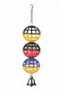 Игрушка для попугаев 3 Lattice Balls