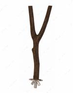 Жердочка из натурального дерева для попугаев Natural Living Perch, Y Shape