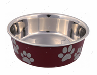 Миска стальная Stainless Steel Bowl with Plastic Coating