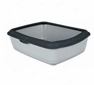 Туалет с бортиком для котов Classic Litter Tray, with Rim