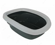 Туалет с бортиком для котов Carlo Litter Tray, with Rim