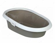 Туалет с бортиком для котов Paulo Litter Tray, with Rim