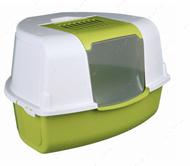 Угловой закрытый туалет Tadeo Open Top Corner Litter Tray, with Hood
