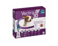 ВЕКТРА 3D капли от блох и клещей для собак и щенков от 4-10 кг VECTRA 3D Ceva