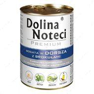 """""""DN Premium"""" Консервы для собак, с треской и брокколи"""