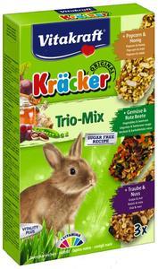 Крекер для кроликов Vitakraft с овощами, попкорном и орехами