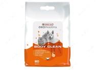 Очищающие салфетки для собак и котов Versele-Laga Oropharma Body Clean