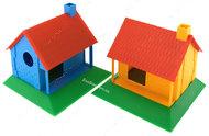 Домик для мышек и хомяков пластмассовый