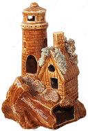 Керамическая маяк с башней