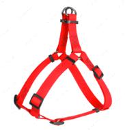 Шлея для собак водостойкая красная Waterproof WAUDOG