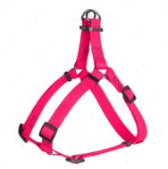 Шлея для собак водостойкая розовая Waterproof WAUDOG