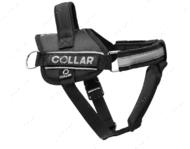 Шлея для собак черная POLICE Dog Extreme COLLAR