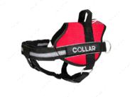 Шлея для собак красная POLICE Dog Extreme COLLAR