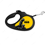 Поводок-рулетка для собак с рисунком Бэтмен Желтый WAUDOG
