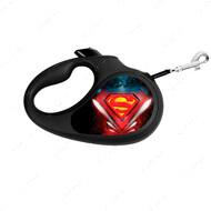 Поводок-рулетка для собак с рисунком Супермен Лого WAUDOG