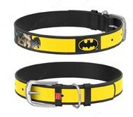Ошейник для собак с рисунком Бэтмен2 черный Design WAUDOG