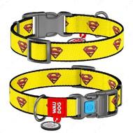 Ошейник для собак с рисунком супермен 2 WAUDOG Nylon