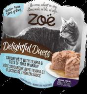 """Консервированный корм для кошек на основе тилапии и лосося """"Delightful Duets Pate"""""""