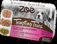 """Консервированный корм для собак на основе мяса курицы и лосося """"Tempting Trios"""""""