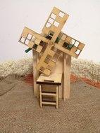 Мельница - домик деревянный для грызунов