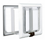 Большая врезная дверца для кошек de Luxe 4-Way Cat Flap XL