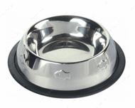 Миска стальная для котов Stainless Steel Bowl, Embossed