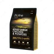 Сухой корм для собак крупных пород ADULT LARGE CHICKEN & POTATOES