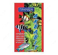 «Аквавит» Натуральная сухая смесь для рыб, 10 грамм