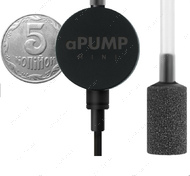 aPUMP MINI Бесшумный аквариумный компрессор до 40 л
